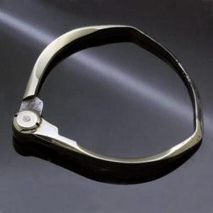 Statement bangle unisex jewellery brighton jeweller