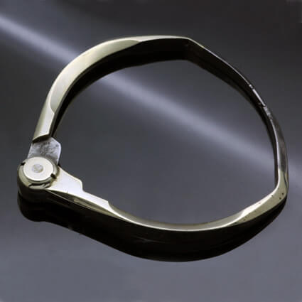 Statement bangle unisex jewellery brighton jeweller
