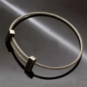 Contemporary adjustable bracelet minimal stylish design