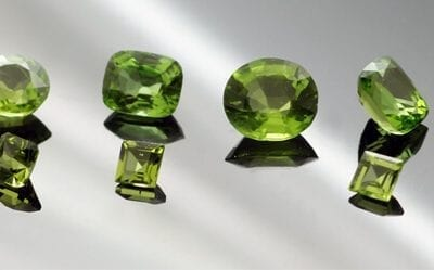 August's Birthstone: the pleasing Peridot