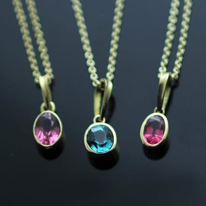 Precious gemstone Jewellery handmade by Julian Stephens in Brighton