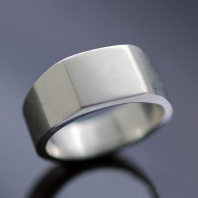 unique modern gifts for him signet ring